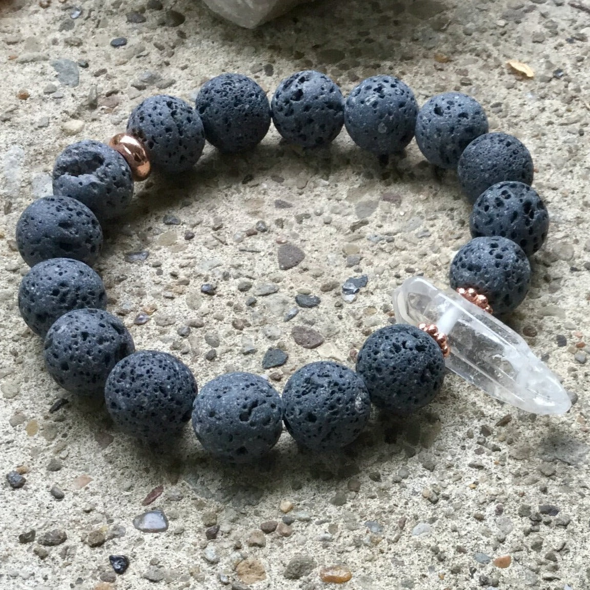 Amplification - Crystal Gemstone Bracelet - Femme Wares Niagara Local Small Business