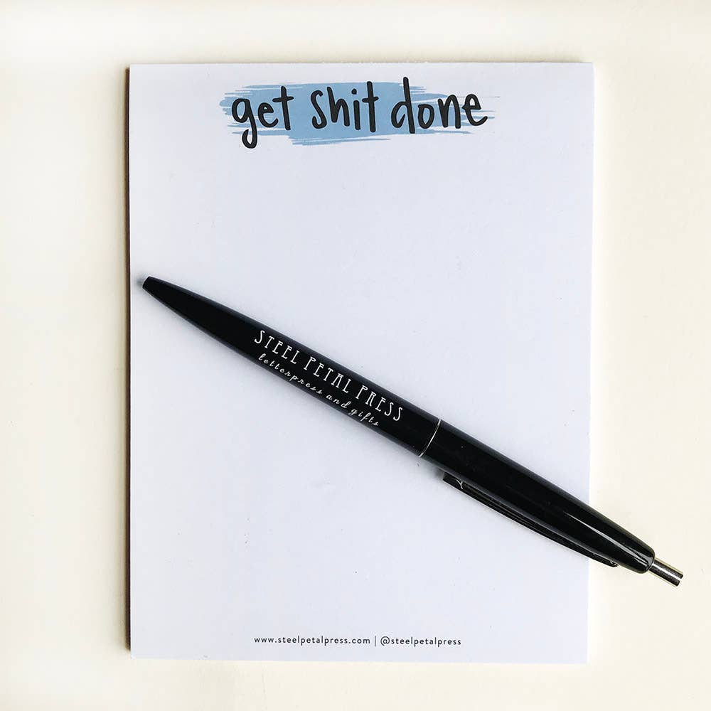 Get Shit Done Pocket Notepad - Femme Wares Niagara Local Small Business