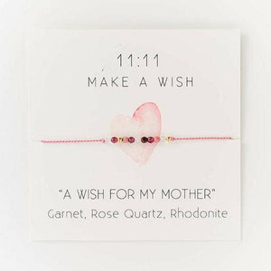 A Wish for my Mother Wish Bracelet - Femme Wares Niagara Local Small Business
