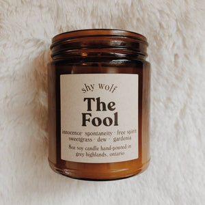 The Fool - Tarot Cards Soy Candle - Femme Wares Niagara Local Small Business