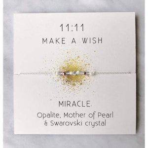 Miracle Wish Bracelet - Femme Wares Niagara Local Small Business