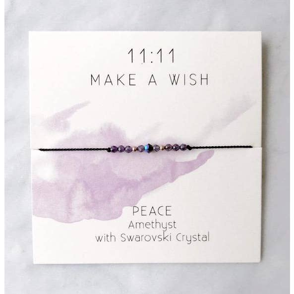 Peace Wish Bracelet - Femme Wares Niagara Local Small Business