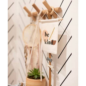 Be Kind Hang Sign - Femme Wares Niagara Local Small Business