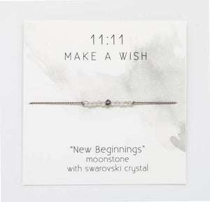 New Beginnings Wish Bracelet - Femme Wares Niagara Local Small Business
