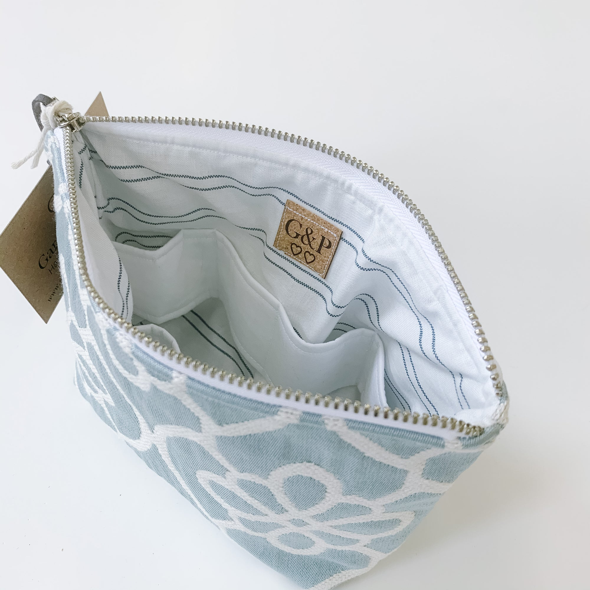Blue Trellis - Essential Oil Bag