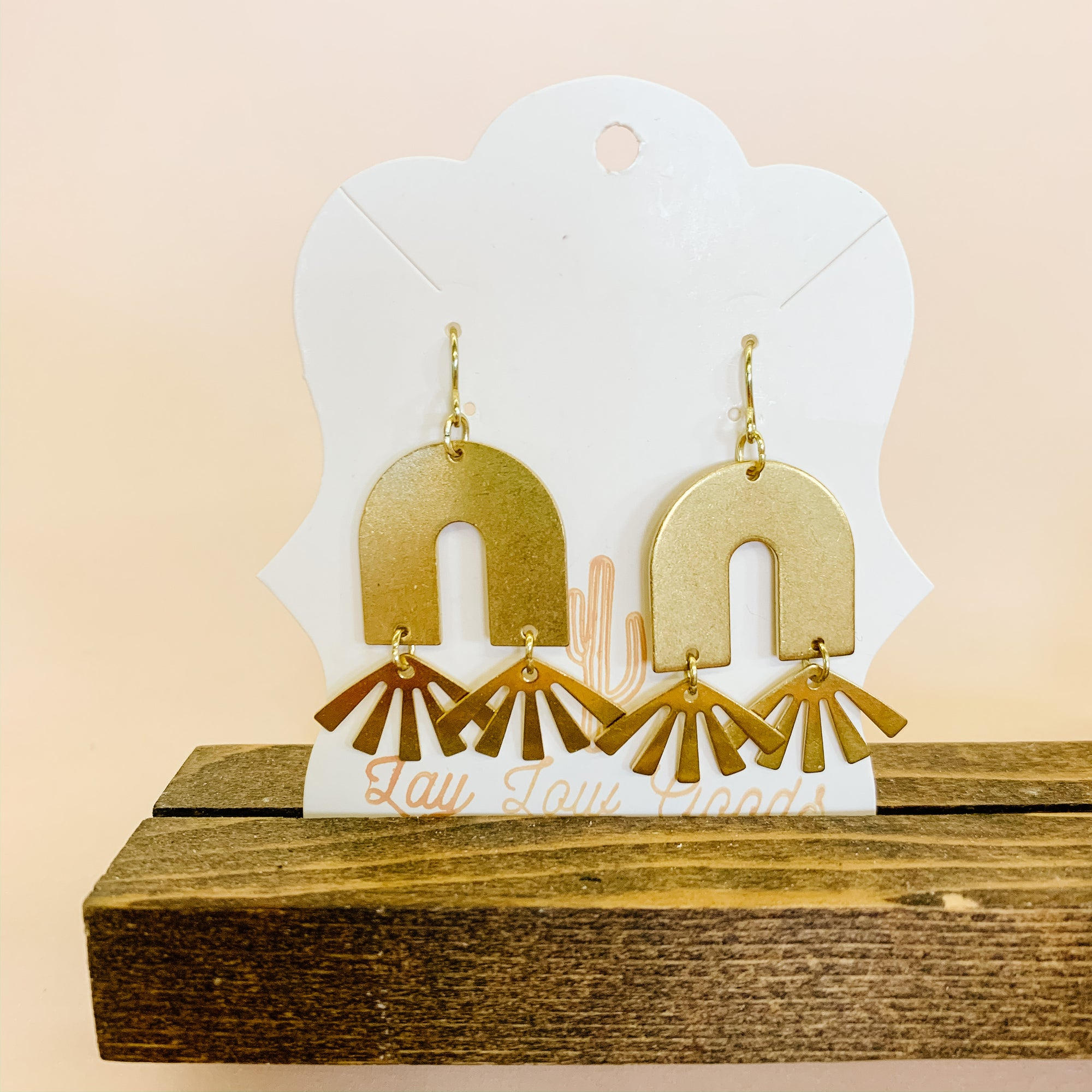 'El Sol' Boho Earrings - Femme Wares Niagara Local Small Business