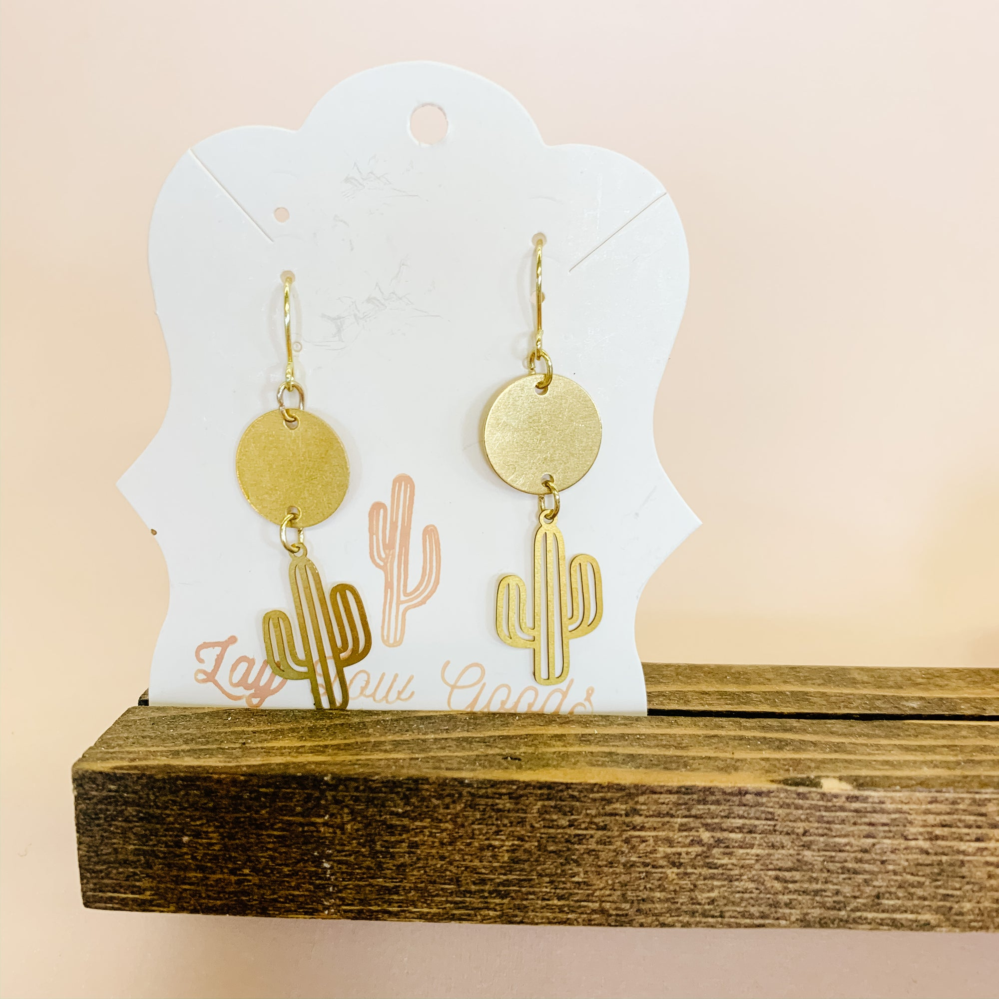 'Sun over Saguaro' Boho Earrings - Femme Wares Niagara Local Small Business
