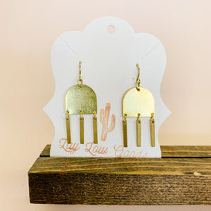 'Desert Rays' Boho Earrings - Femme Wares Niagara Local Small Business