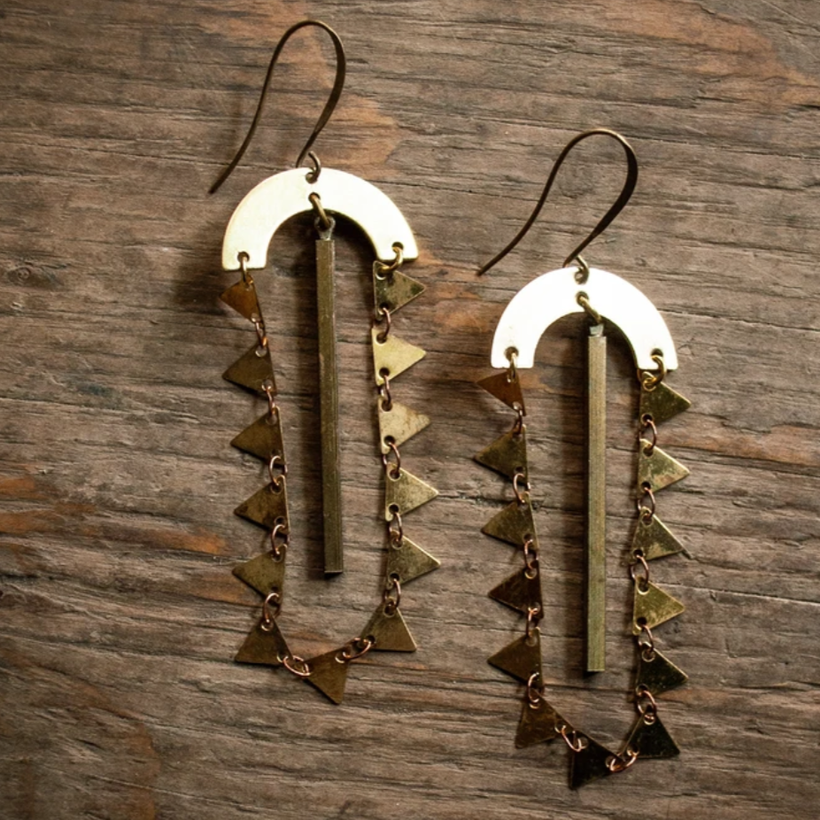 Frida Earrings - Femme Wares Niagara Local Small Business