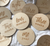 Baby Milestone Wood Discs - Femme Wares Niagara Local Small Business