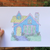 Pastel House Print #1 - Femme Wares Niagara Local Small Business
