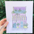 Pastel House Print #3 - Femme Wares Niagara Local Small Business