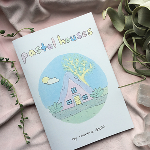 Pastel Houses Zine - Femme Wares Niagara Local Small Business