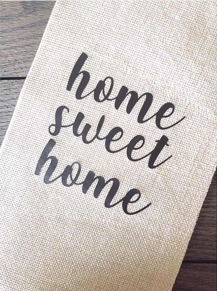 Home Sweet Home - Wine Bag - Femme Wares Niagara Local Small Business