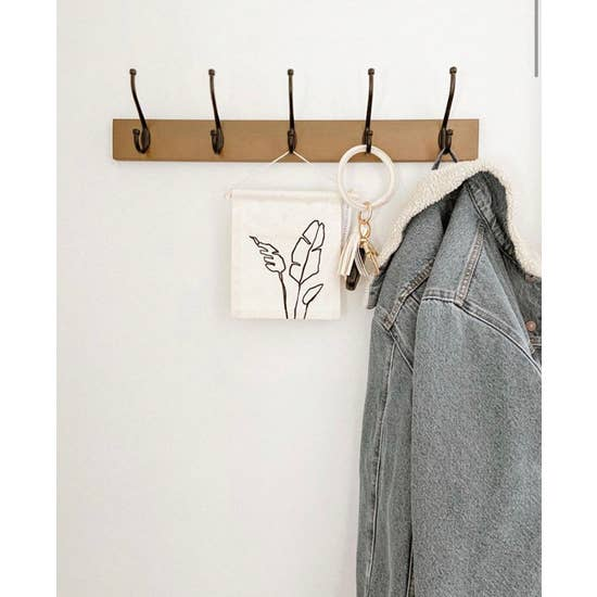 Palm Leaves Hang Sign - Femme Wares Niagara Local Small Business