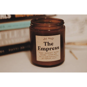 The Empress - Tarot Cards Soy Candle - Femme Wares Niagara Local Small Business