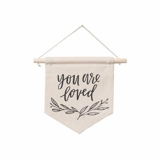 You Are Loved Hang Sign - Femme Wares Niagara Local Small Business