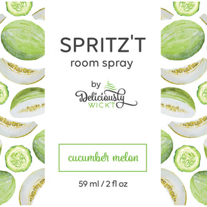 Spritz't Cucumber Melon Room Spray - Femme Wares Niagara Local Small Business