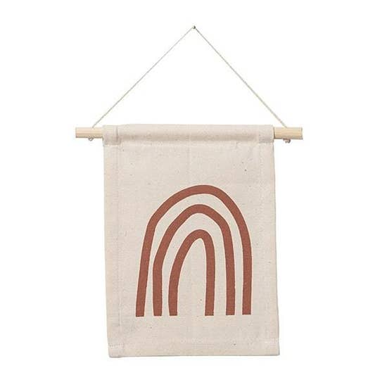 Rust Rainbow Hang Sign - Femme Wares Niagara Local Small Business