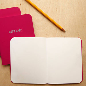 BOSS BABE - Notebook - Femme Wares Niagara Local Small Business