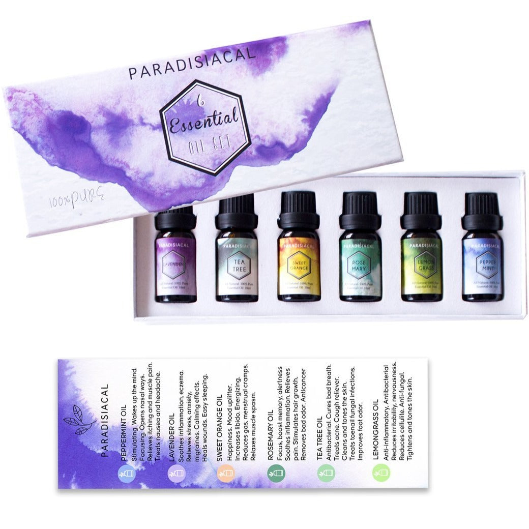 Essential Oil Gift Set - Femme Wares Niagara Local Small Business