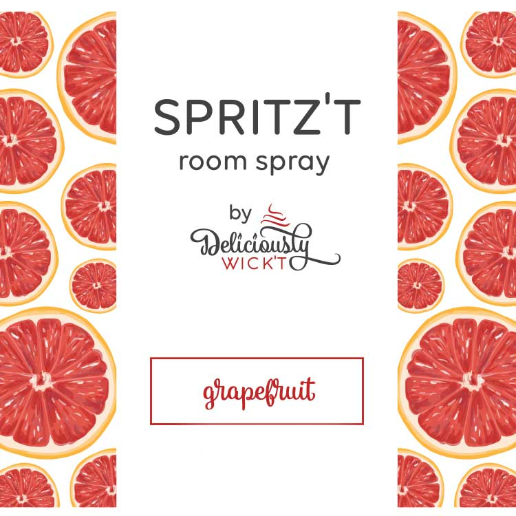 Spritz't Grapefruit Room Spray - Femme Wares Niagara Local Small Business