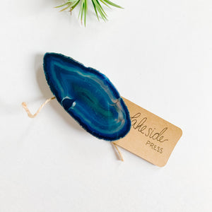 Agate Phone Grip - Large Blue - Femme Wares Niagara Local Small Business