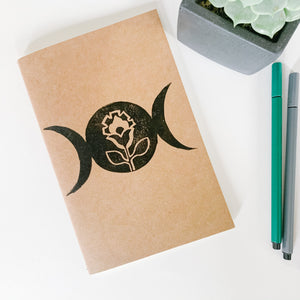 Journal - Moonflower - Femme Wares Niagara Local Small Business