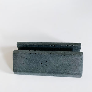 Concrete Business Card Holder - Femme Wares Niagara Local Small Business