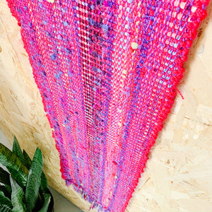 Boho Textile Scarf - Bright - Femme Wares Niagara Local Small Business