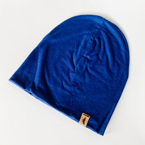 Bamboo Beanie - Navy - Femme Wares Niagara Local Small Business