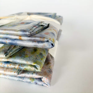 Silk Pillow Case - Hand Dyed - Femme Wares Niagara Local Small Business