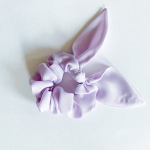 Bow Scrunchie - Lilac - Femme Wares Niagara Local Small Business
