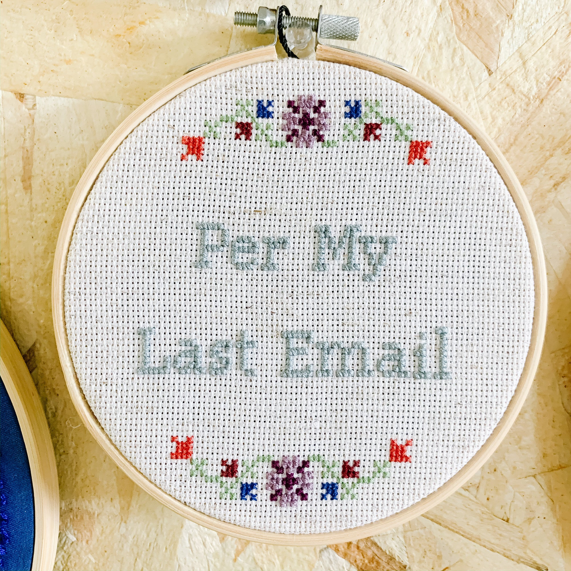 Per My Last Email Embroidery Art - Femme Wares Niagara Local Small Business
