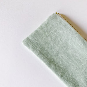 Carry All Zip Pouch - Linen - Femme Wares Niagara Local Small Business