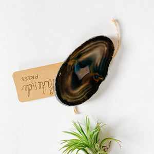 Agate Phone Grip - Large Neutral - Femme Wares Niagara Local Small Business