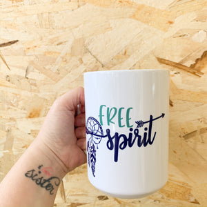 Free Spirit Mug - Femme Wares Niagara Local Small Business