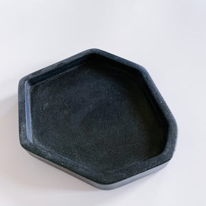 Small Geometric Concrete Tray - Femme Wares Niagara Local Small Business