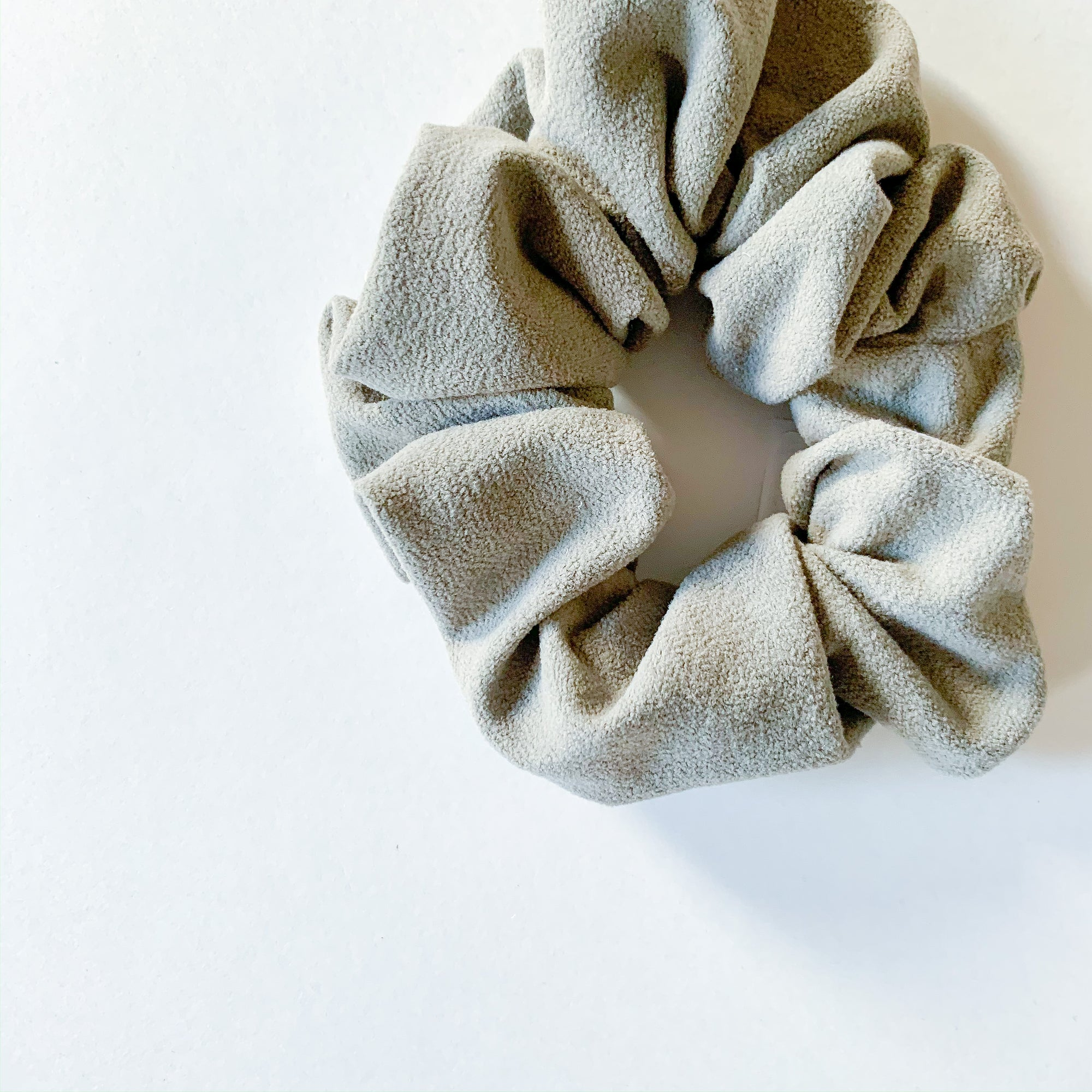 Hair Scrunchie - Taupe - Femme Wares Niagara Local Small Business