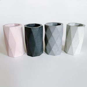 Concrete Pencil Cup - Femme Wares Niagara Local Small Business
