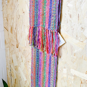 Boho Textile Scarf - Bloom - Femme Wares Niagara Local Small Business