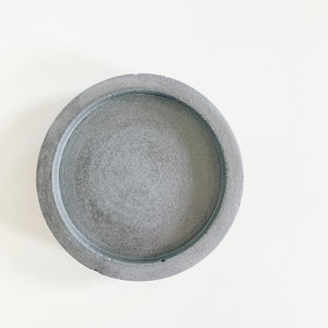 Small Round Concrete Tray - Femme Wares Niagara Local Small Business