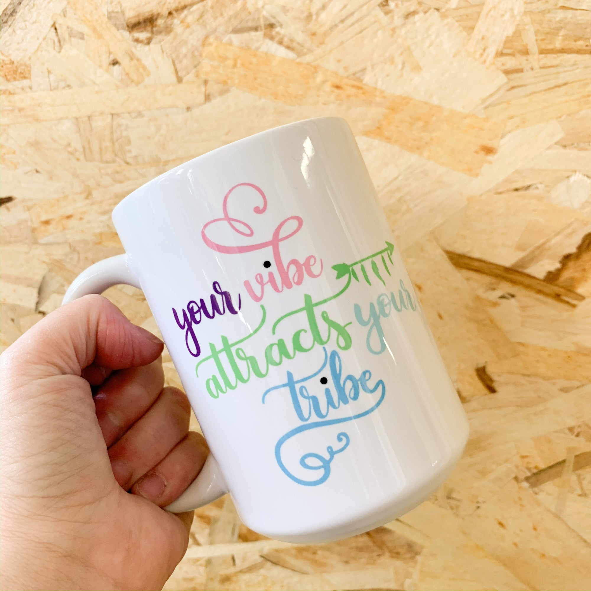 Your Vibe Mug - Femme Wares Niagara Local Small Business