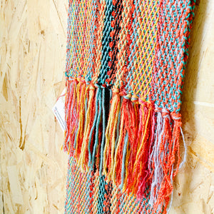 Boho Textile Scarf - Summer - Femme Wares Niagara Local Small Business