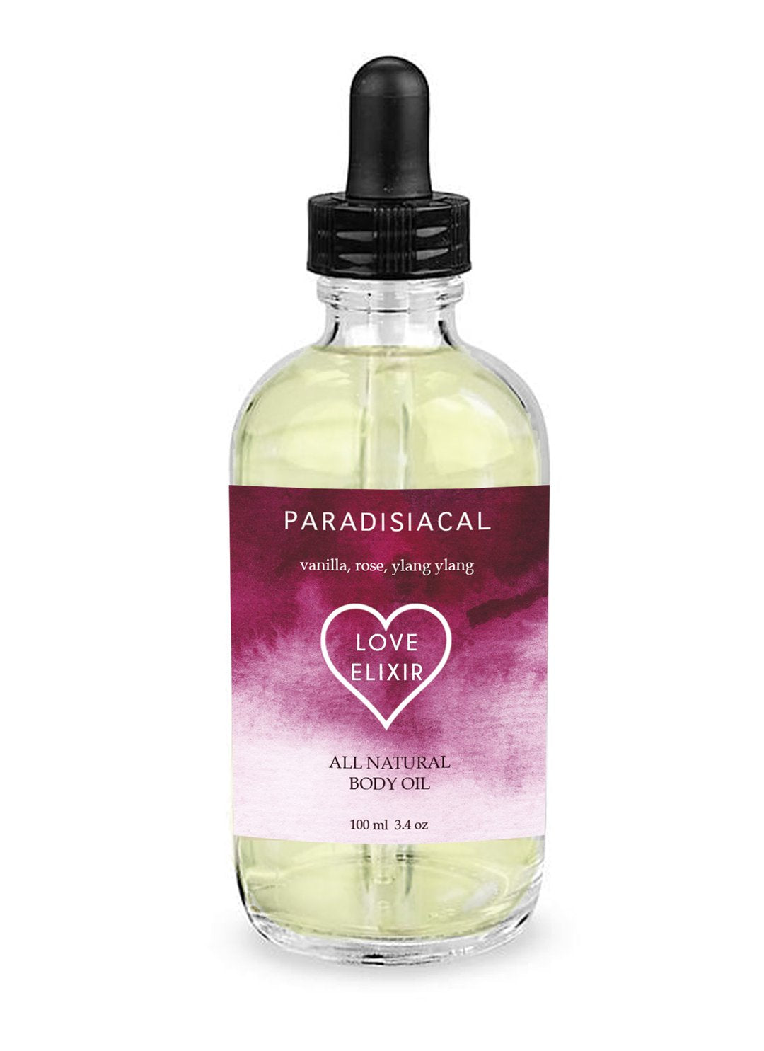 Love Elixir Body and Massage Oil - Femme Wares Niagara Local Small Business