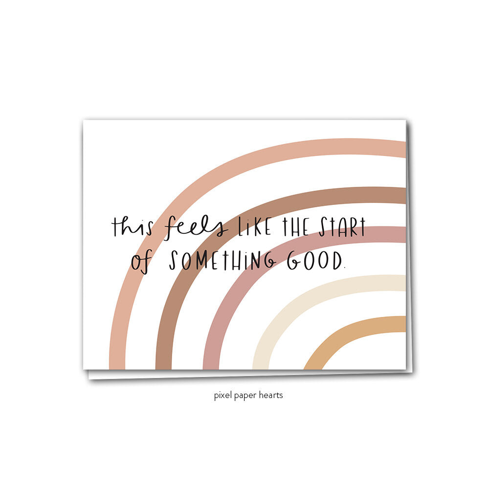Something Good Greeting Card - Femme Wares Niagara Local Small Business