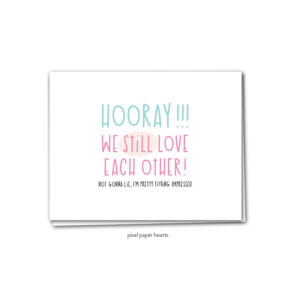 Still Love Each Other Greeting Card - Femme Wares Niagara Local Small Business