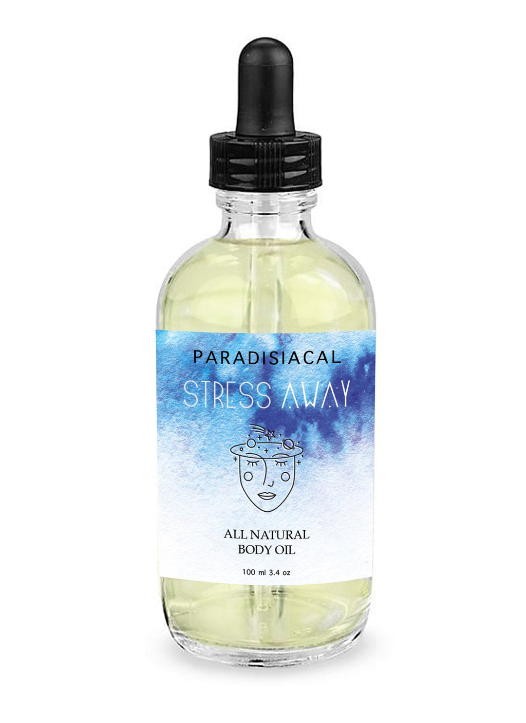 Stress Away Body and Massage Oil - Femme Wares Niagara Local Small Business