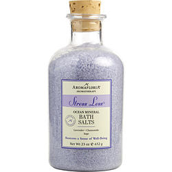 Aromafloria Ocean Mineral Bath Salts 23 Oz Blend Of Lavender, Chamomile, And Sage By Aromafloria