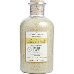 Aromafloria Ocean Mineral Bath Salts 23 Oz Eucalyptus, Peppermint, And Lemongrass By Aromafloria